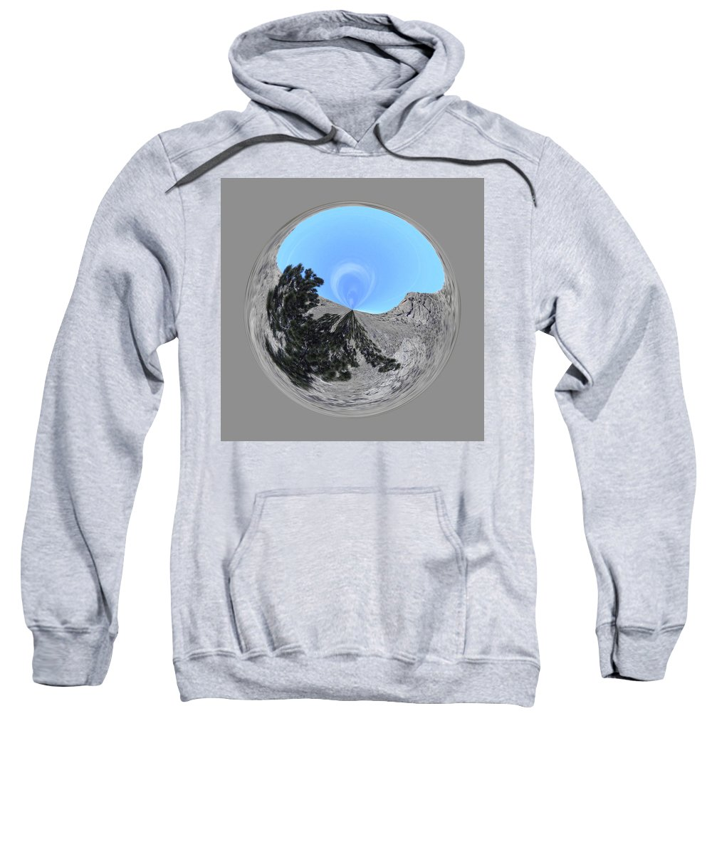 Orb Sweatshirt featuring the photograph Desert Orb 2 by Brent Dolliver