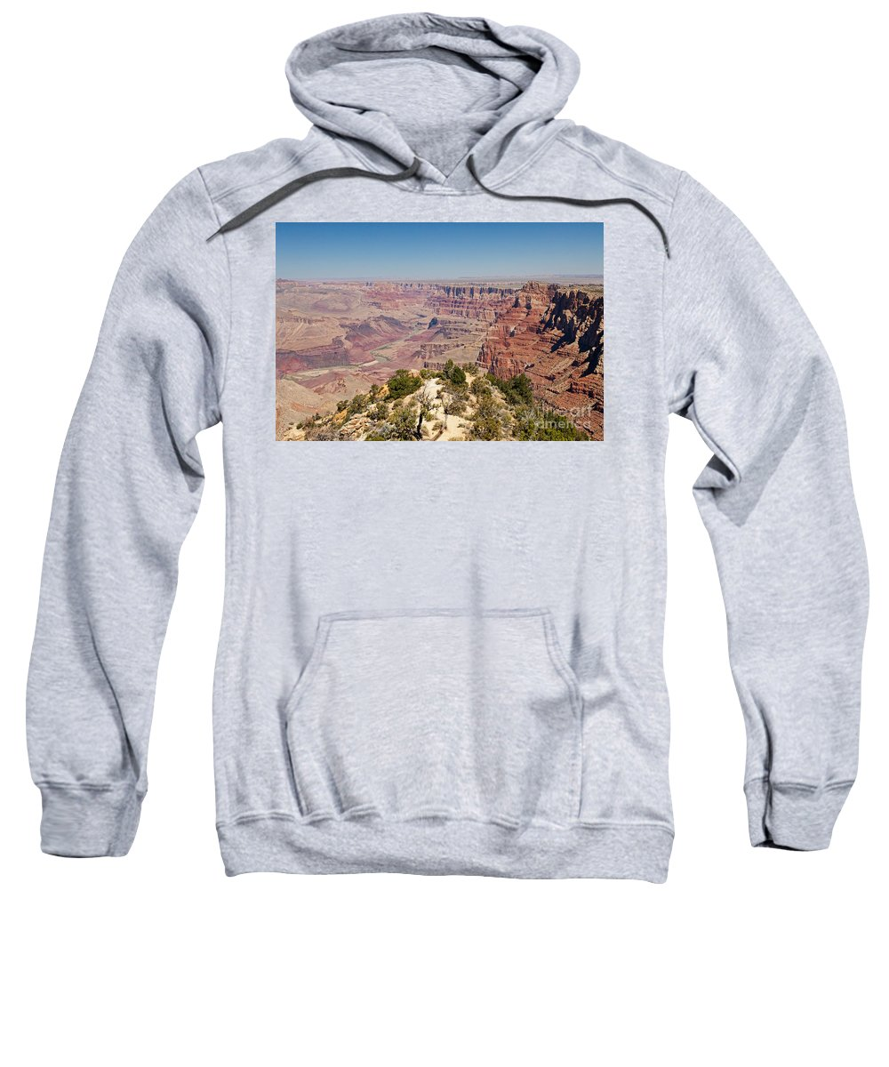 Arizona Sweatshirt featuring the photograph Desert View Grand Canyon National Park by Fred Stearns