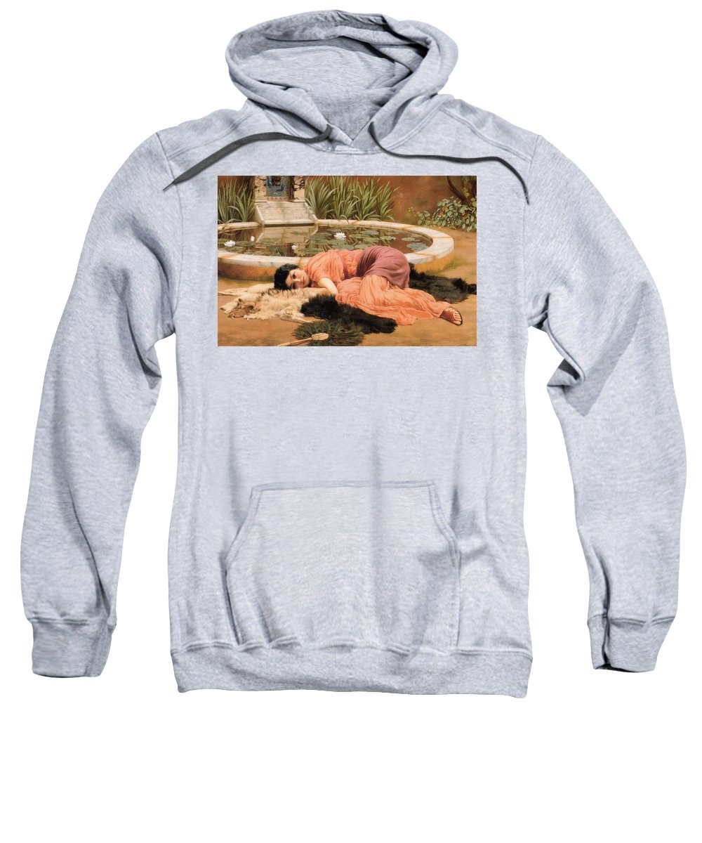John Sweatshirt featuring the painting Dolce Far Niente Or Sweet Nothings 1904 by Philip Ralley