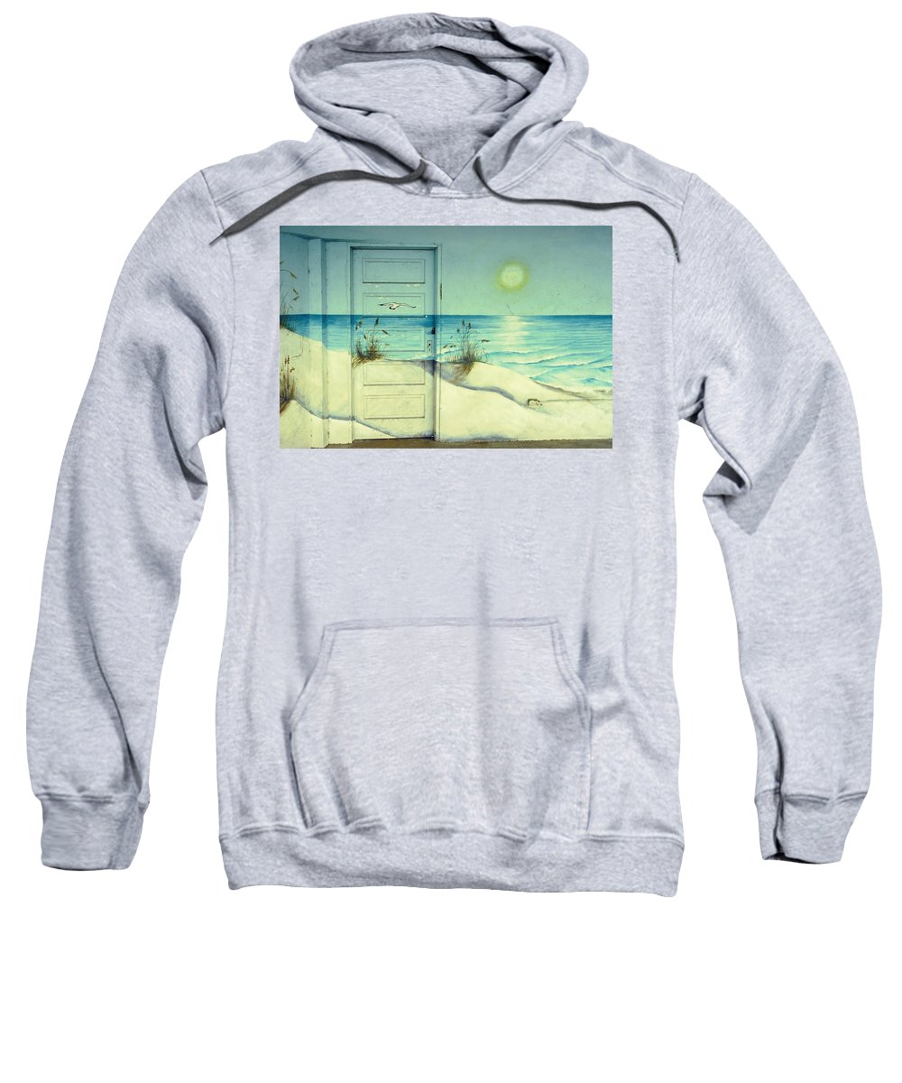 Architecture Sweatshirt featuring the photograph Door Of Perception by Skip Hunt