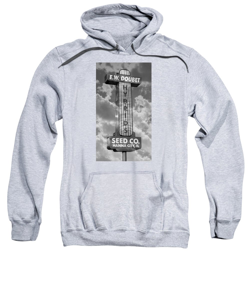 Abstract Sweatshirt featuring the photograph Doubet Seed Company 1.2 by Stephen Stookey