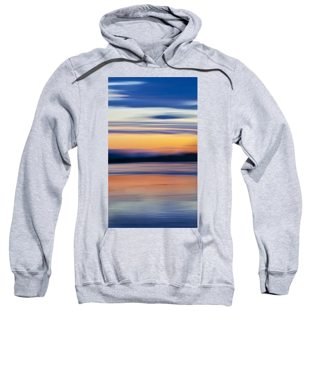 River Sweatshirt featuring the photograph Down By The River by Theresa Tahara