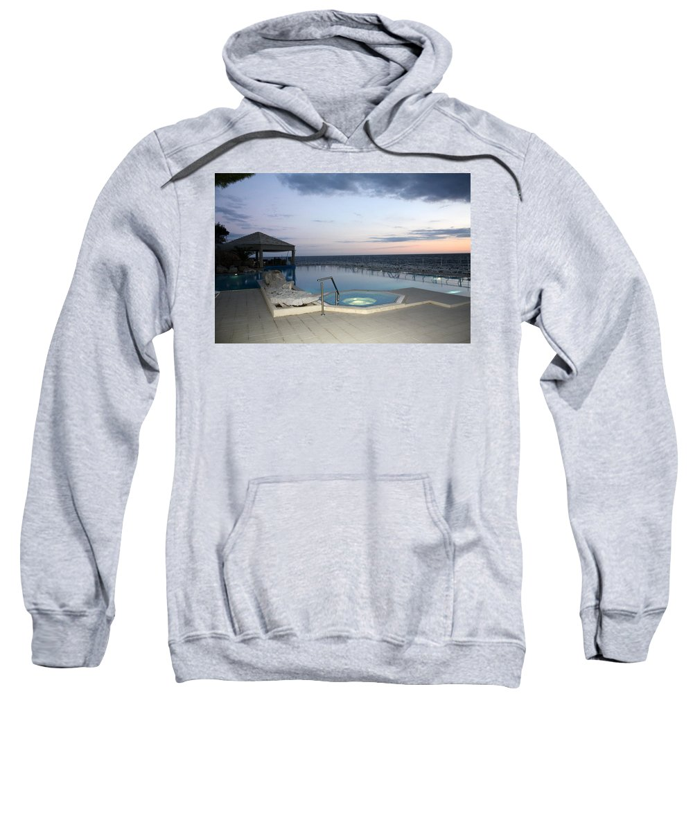 Dubrovnik Palace Sweatshirt featuring the photograph Dubrovnik Palace by David Nicholls