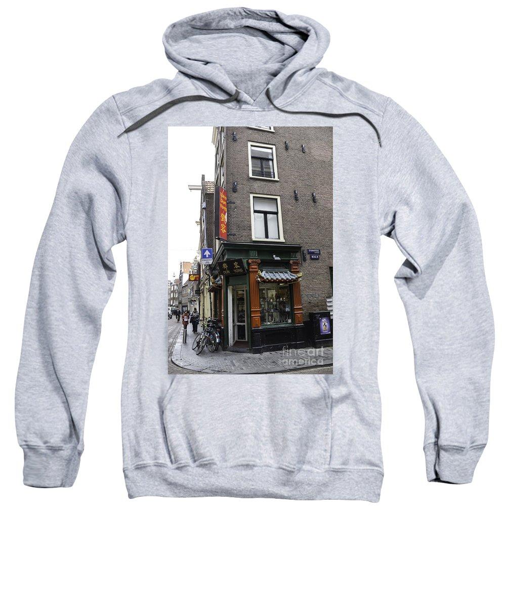 2014 Sweatshirt featuring the photograph Dun Yong Amsterdam by Teresa Mucha