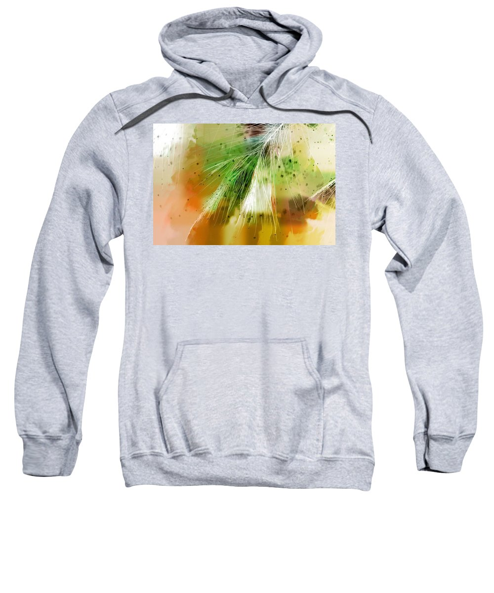 Abstract Sweatshirt featuring the photograph Earth Silk by Holly Kempe