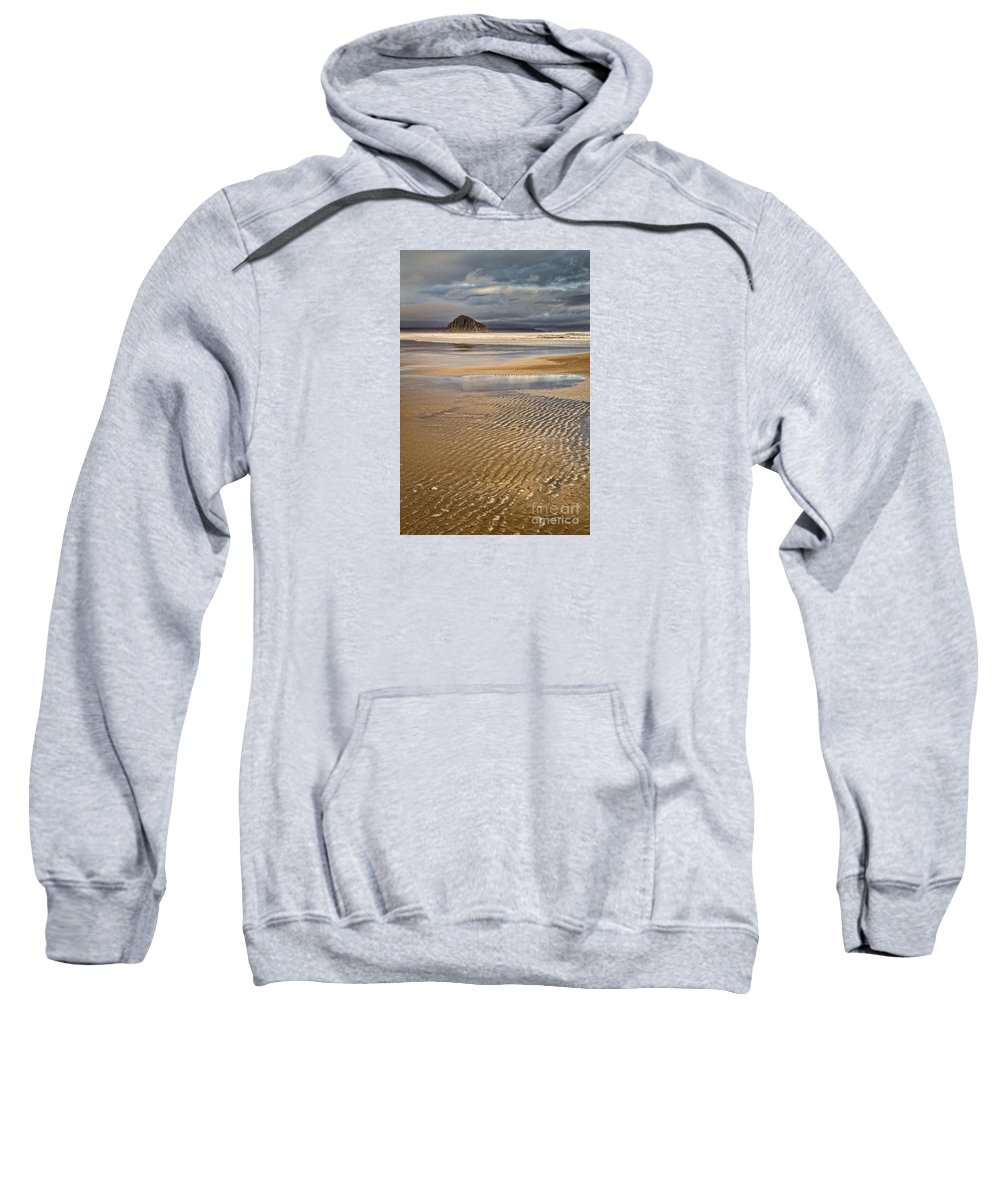 Morro Bay Sweatshirt featuring the photograph Ebb Tide by Alice Cahill