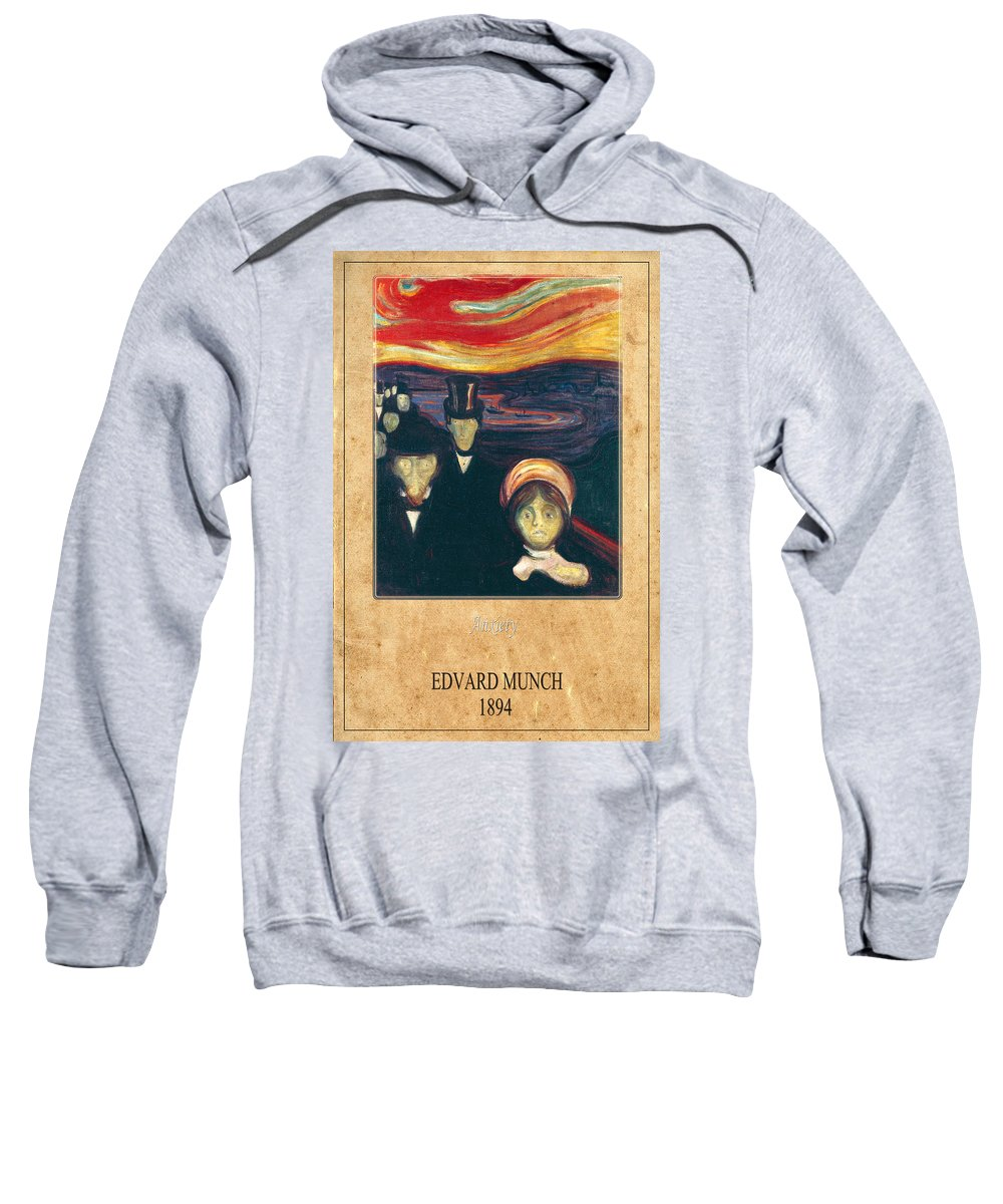 Munch Sweatshirt featuring the photograph Edvard Munch 2 by Andrew Fare