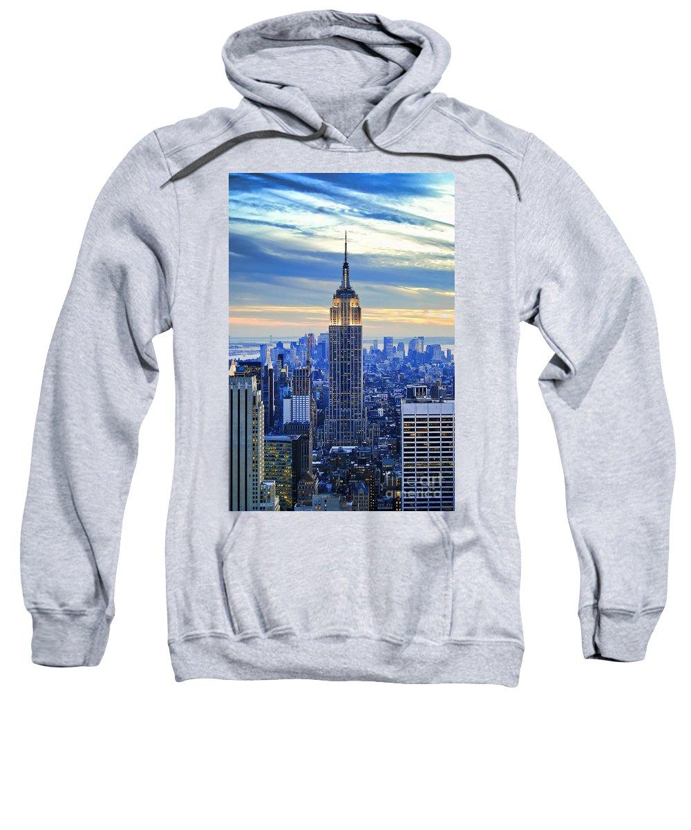 City Sunset Hooded Sweatshirts T-Shirts