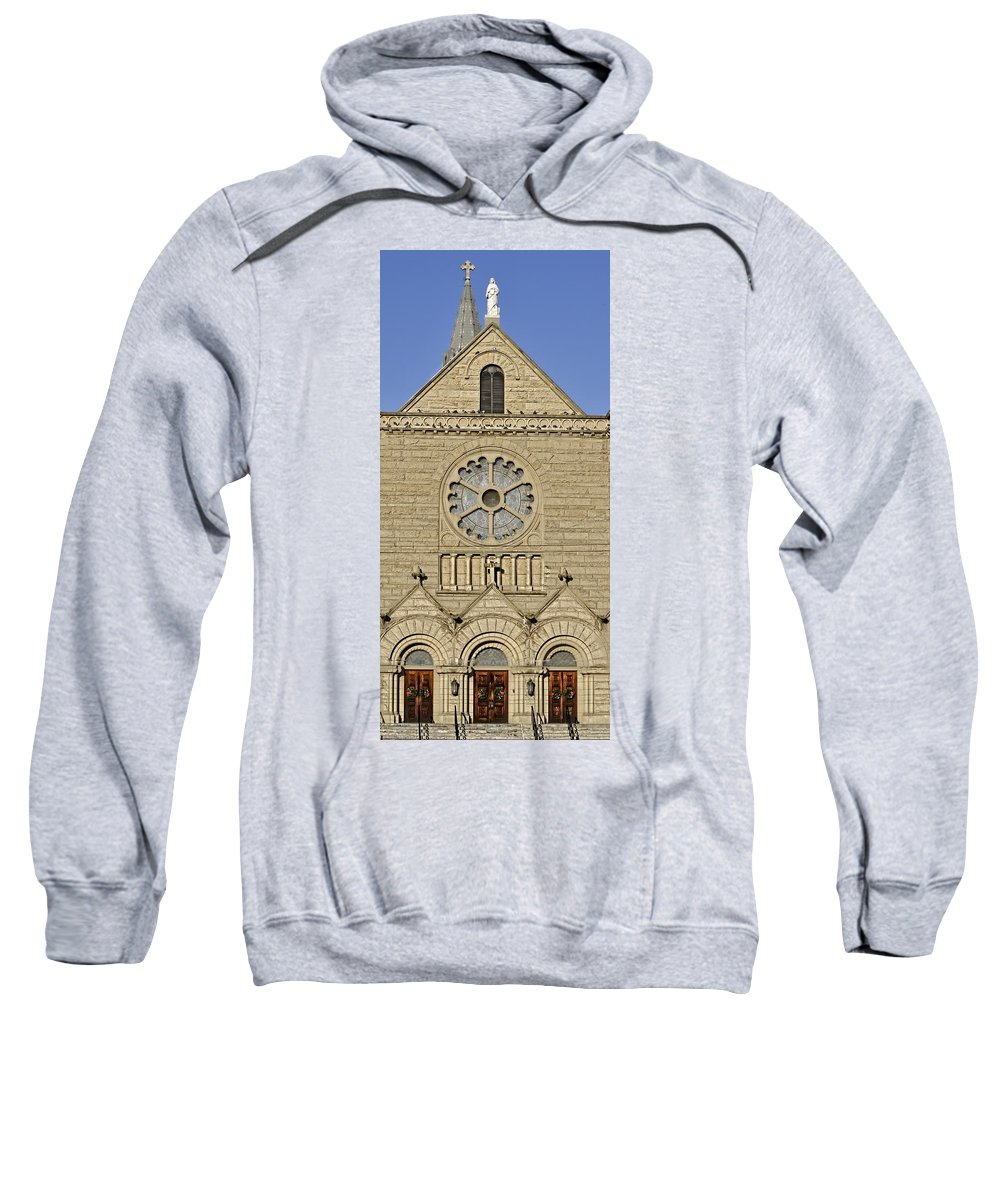Boise Sweatshirt featuring the photograph Enter My Doors by Image Takers Photography LLC - Laura Morgan and Carol Haddon