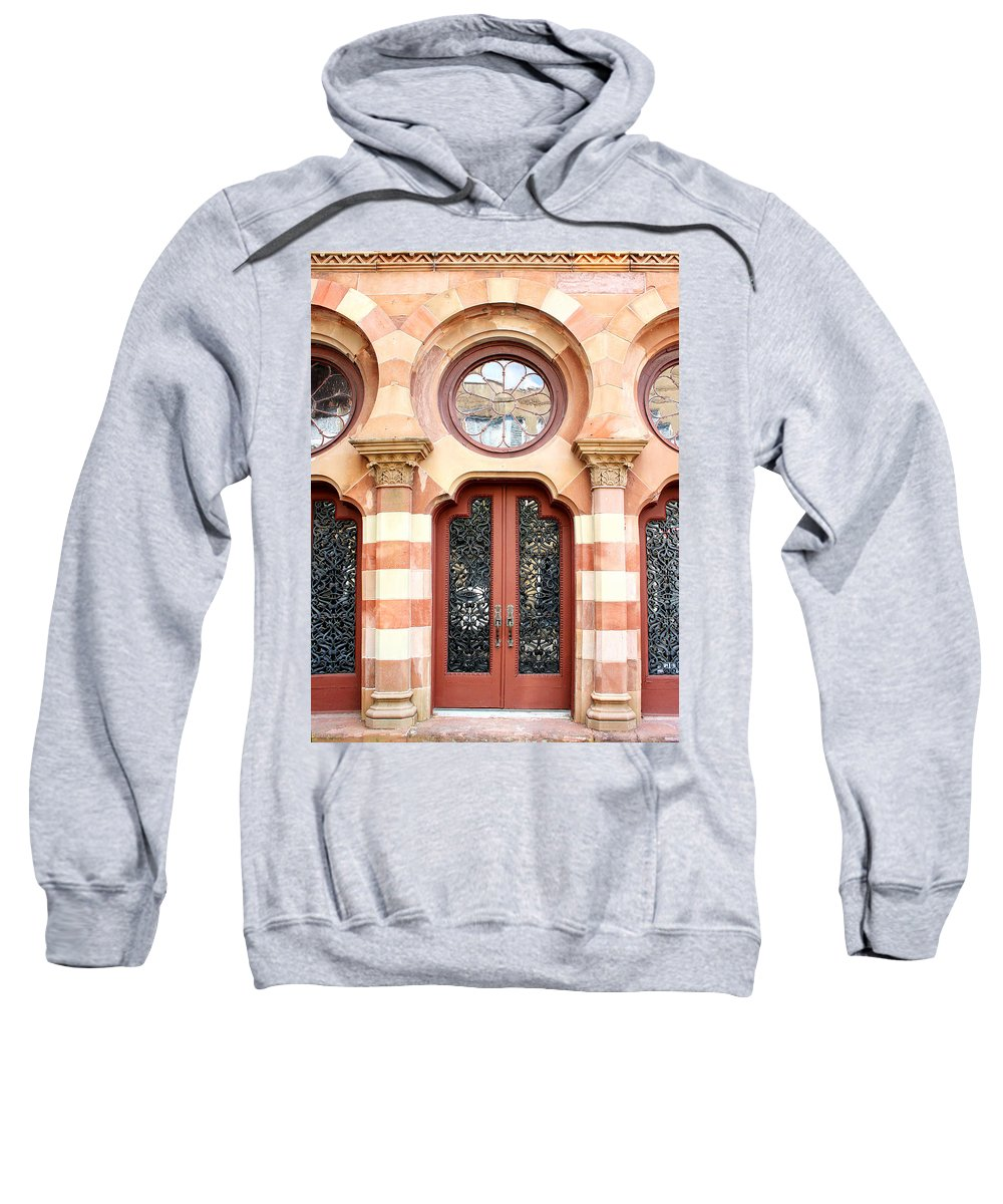 Classical Architecture Sweatshirt featuring the photograph Entry Charleston by William Dey