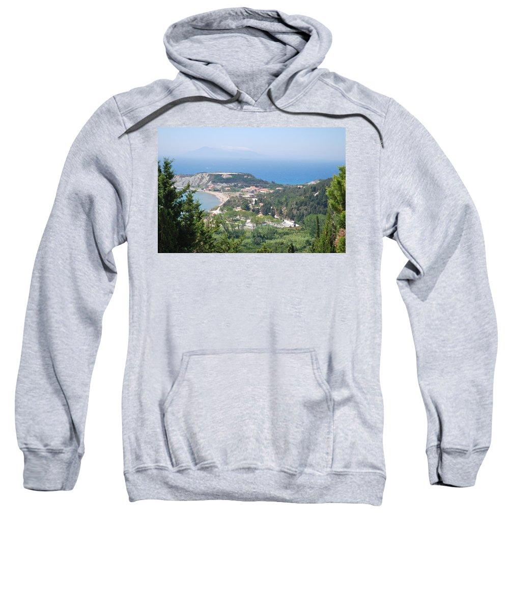 Erikousa 4 Sweatshirt featuring the photograph Erikousa 4 by George Katechis