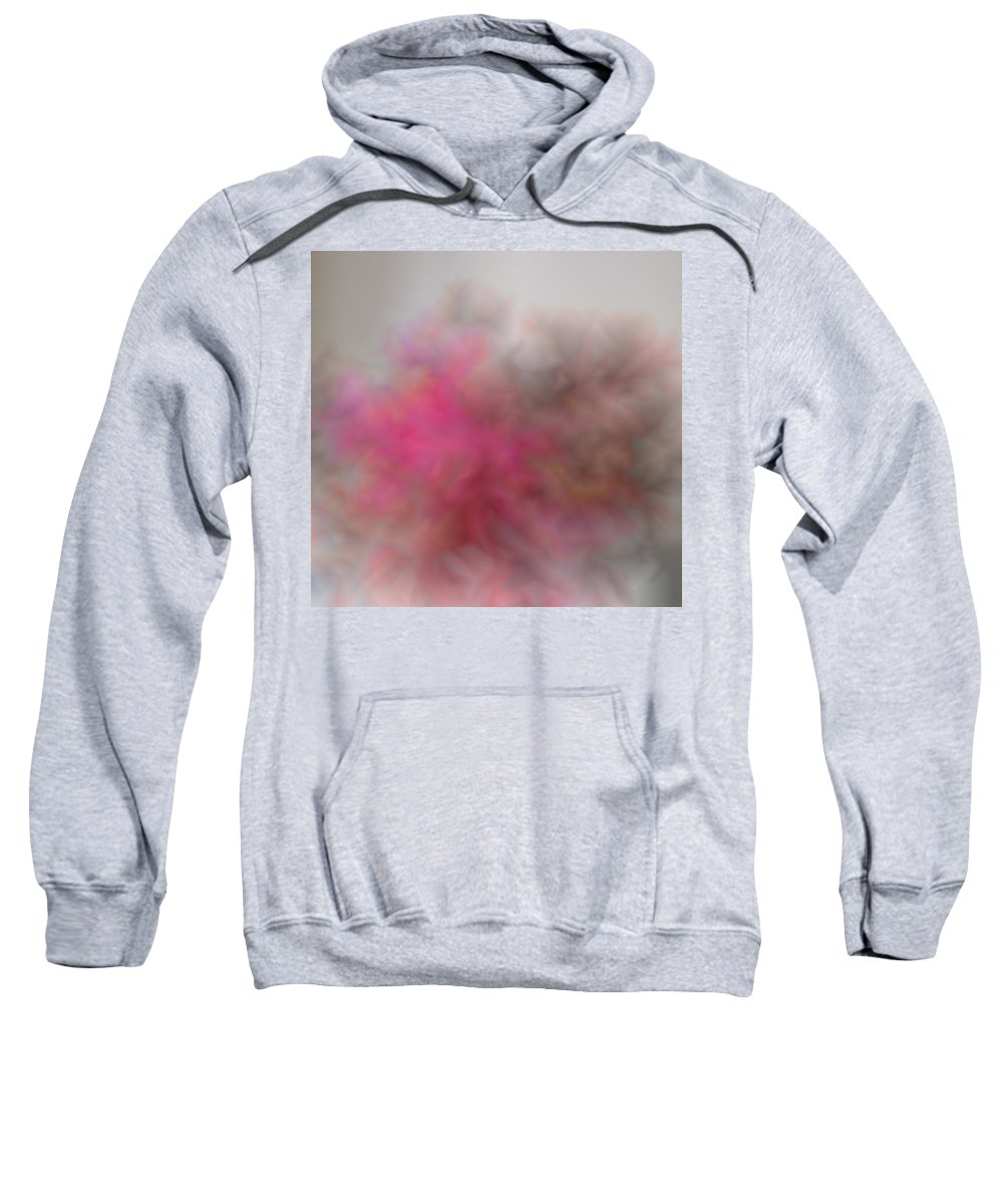 Pink Sweatshirt featuring the photograph Esplosione Rosa by Costanza Canali