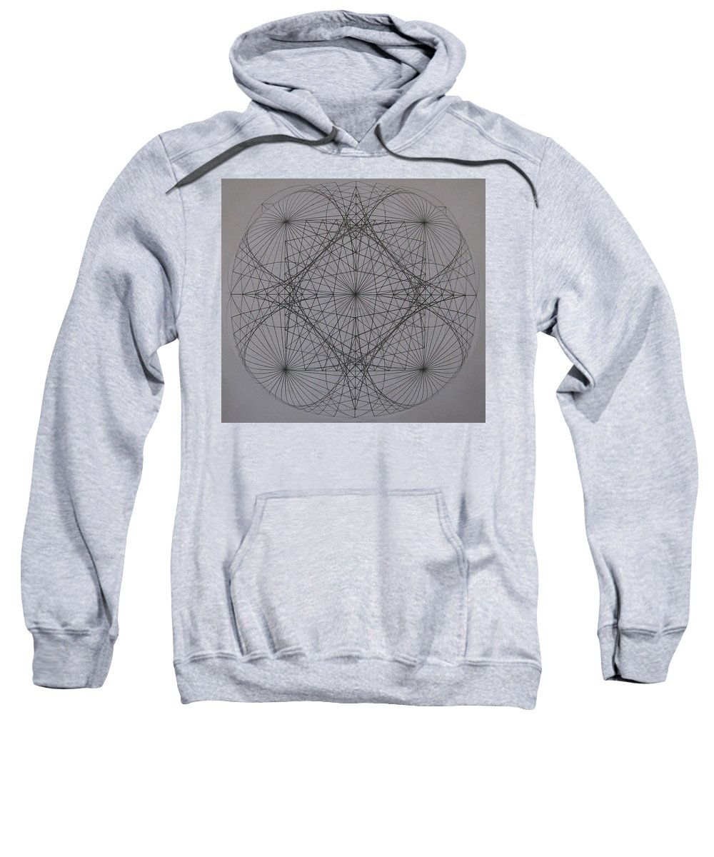 Event Horizon Sweatshirt featuring the digital art Event Horizon by Jason Padgett