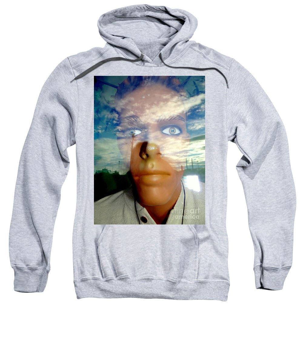 Mannequins Sweatshirt featuring the photograph Eyes On The Horizon by Ed Weidman