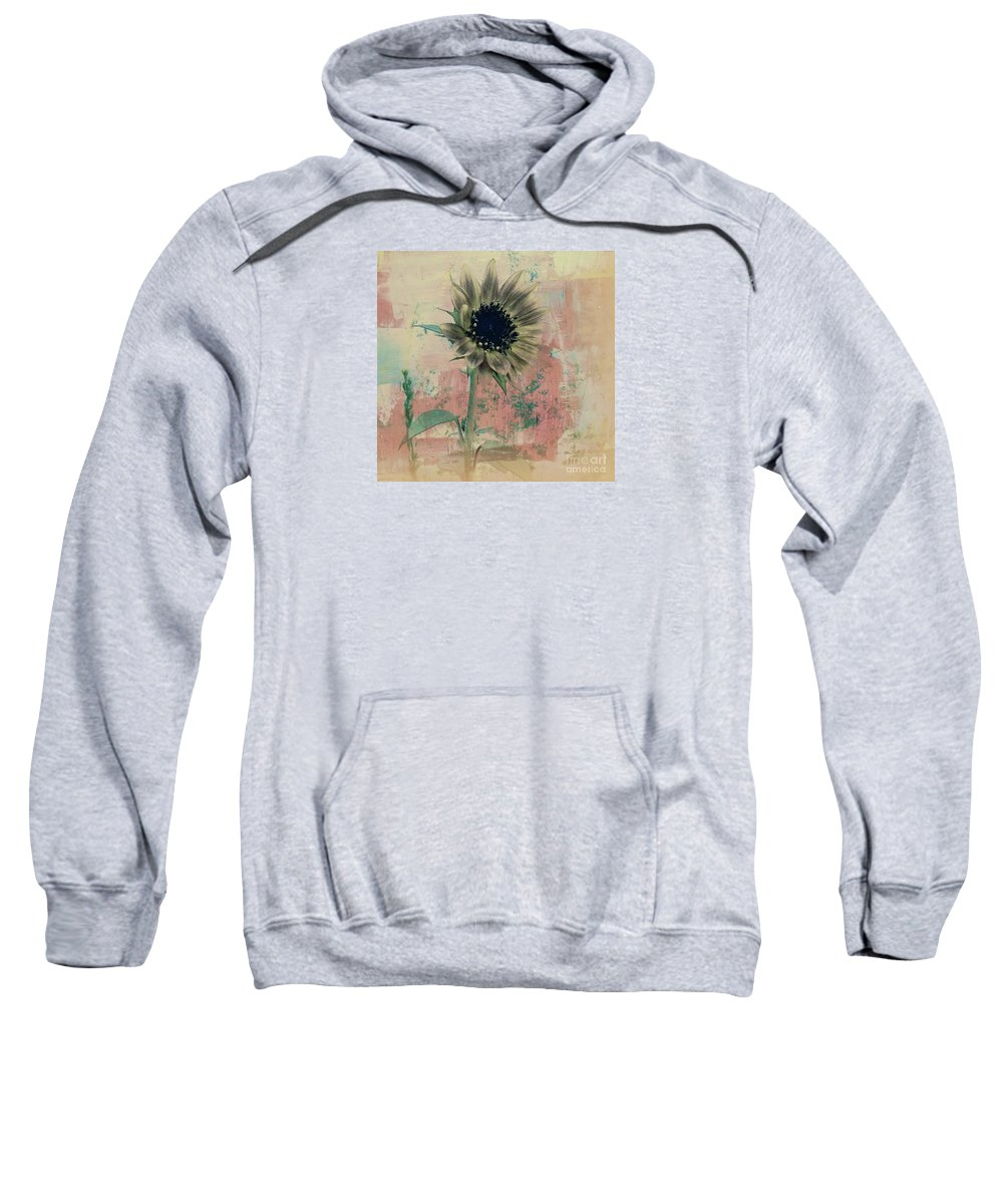 Nature Sweatshirt featuring the painting Faded Love by Janice Westerberg
