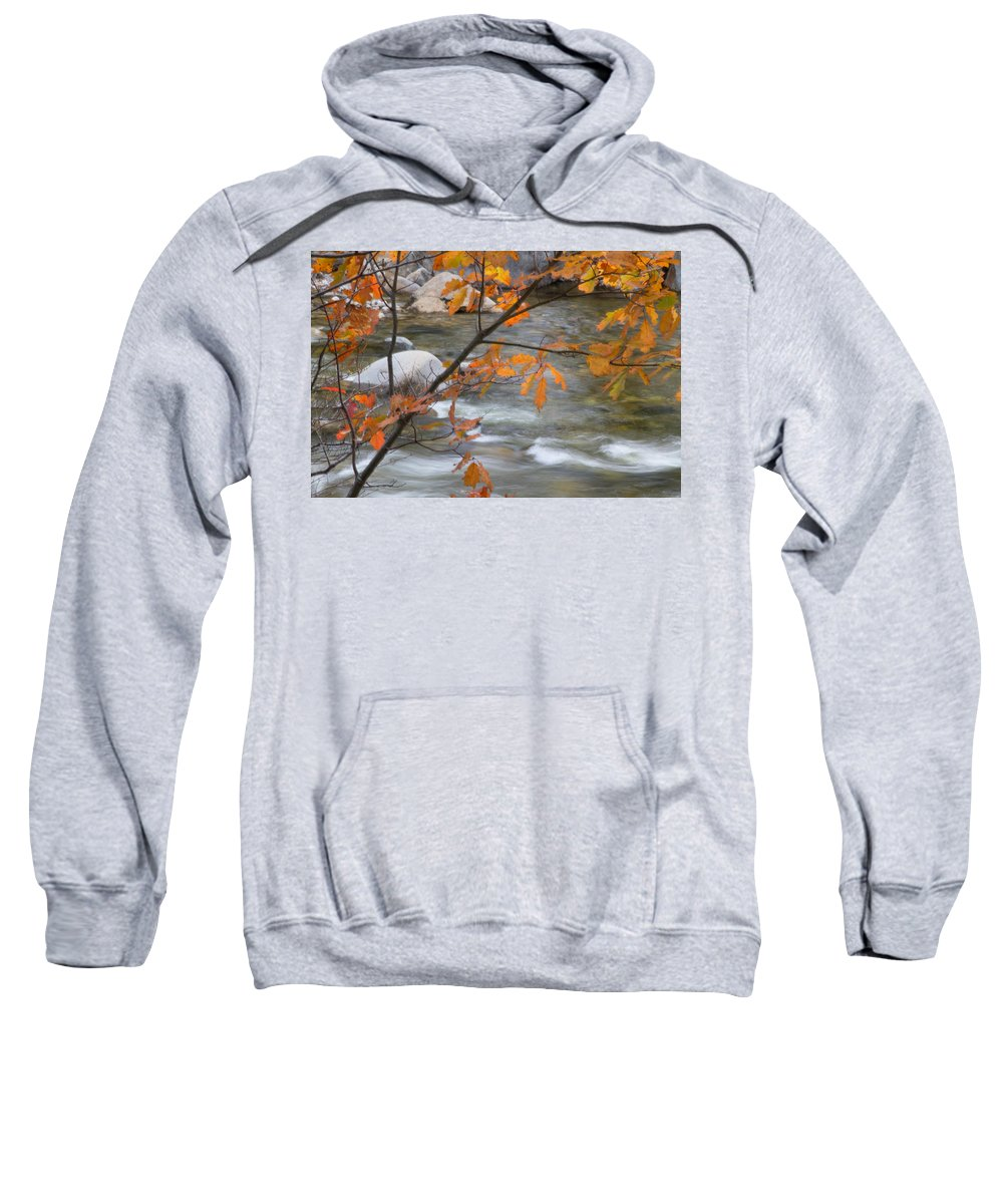 Fall Sweatshirt featuring the photograph Fall In Nh 1 by Natalie Rotman Cote