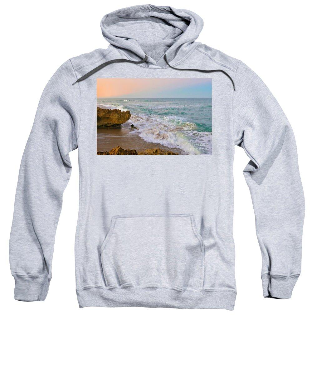 Hutchinson Island Sweatshirt featuring the photograph Falling In Love by Olga Hamilton
