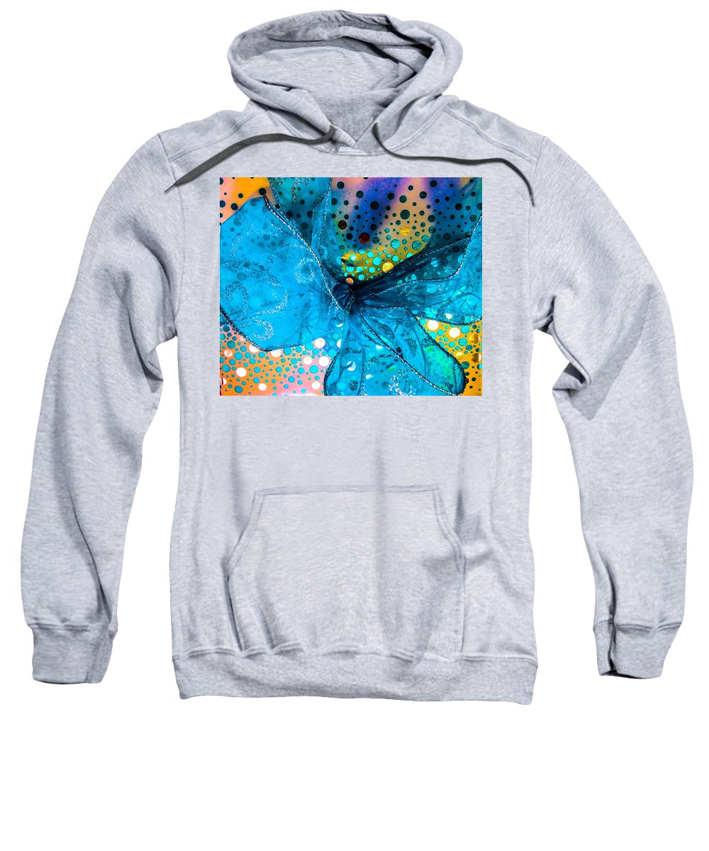 Optical Playground By Mp Ray Sweatshirt featuring the photograph Fancy Wrapping Iv by Optical Playground By MP Ray