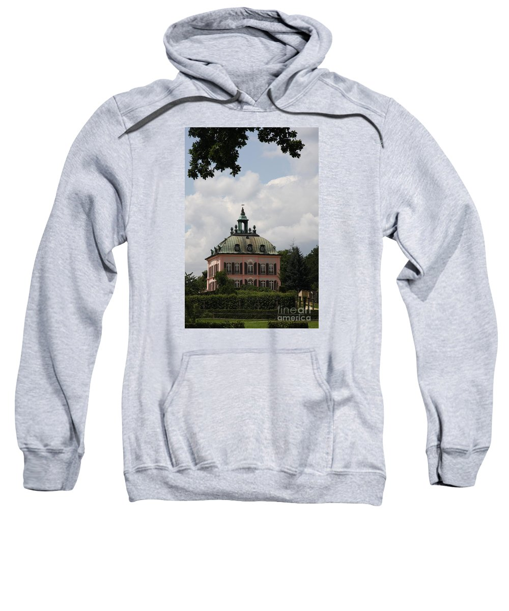 Palace Sweatshirt featuring the photograph Fasanen Schloesschen Germany  Pheasant Palace by Christiane Schulze Art And Photography
