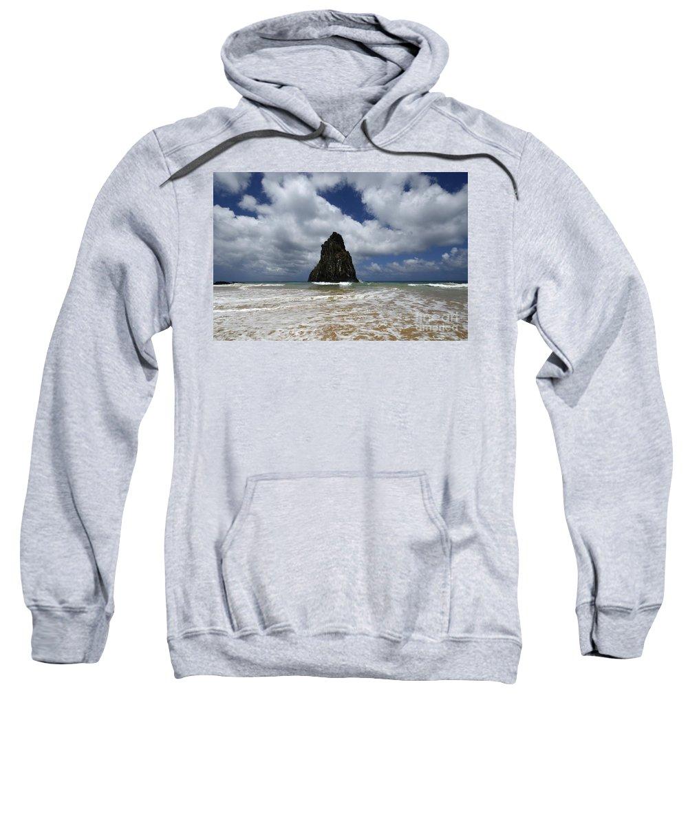 Fernando De Noronha Sweatshirt featuring the photograph Fernando De Norronha Island Brazil 7 by Bob Christopher
