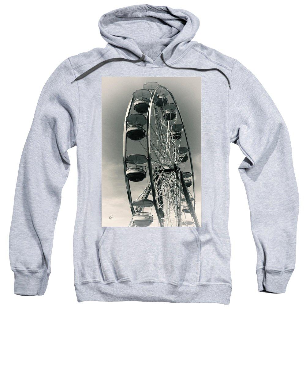 Ferris Wheel Sweatshirt featuring the photograph Ferris Wheel by Karol Livote
