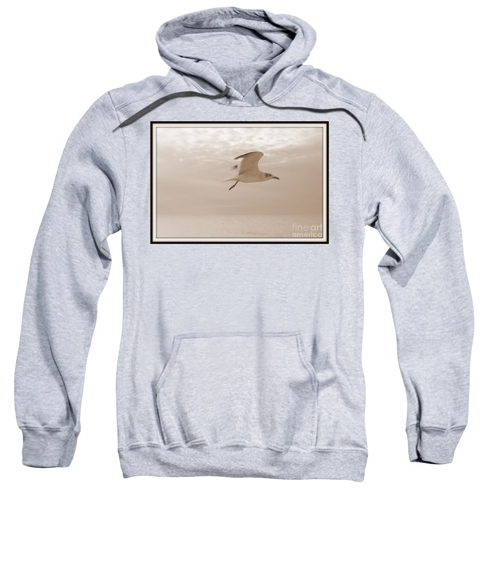 Birds Sweatshirt featuring the photograph Flight by Irina Davis