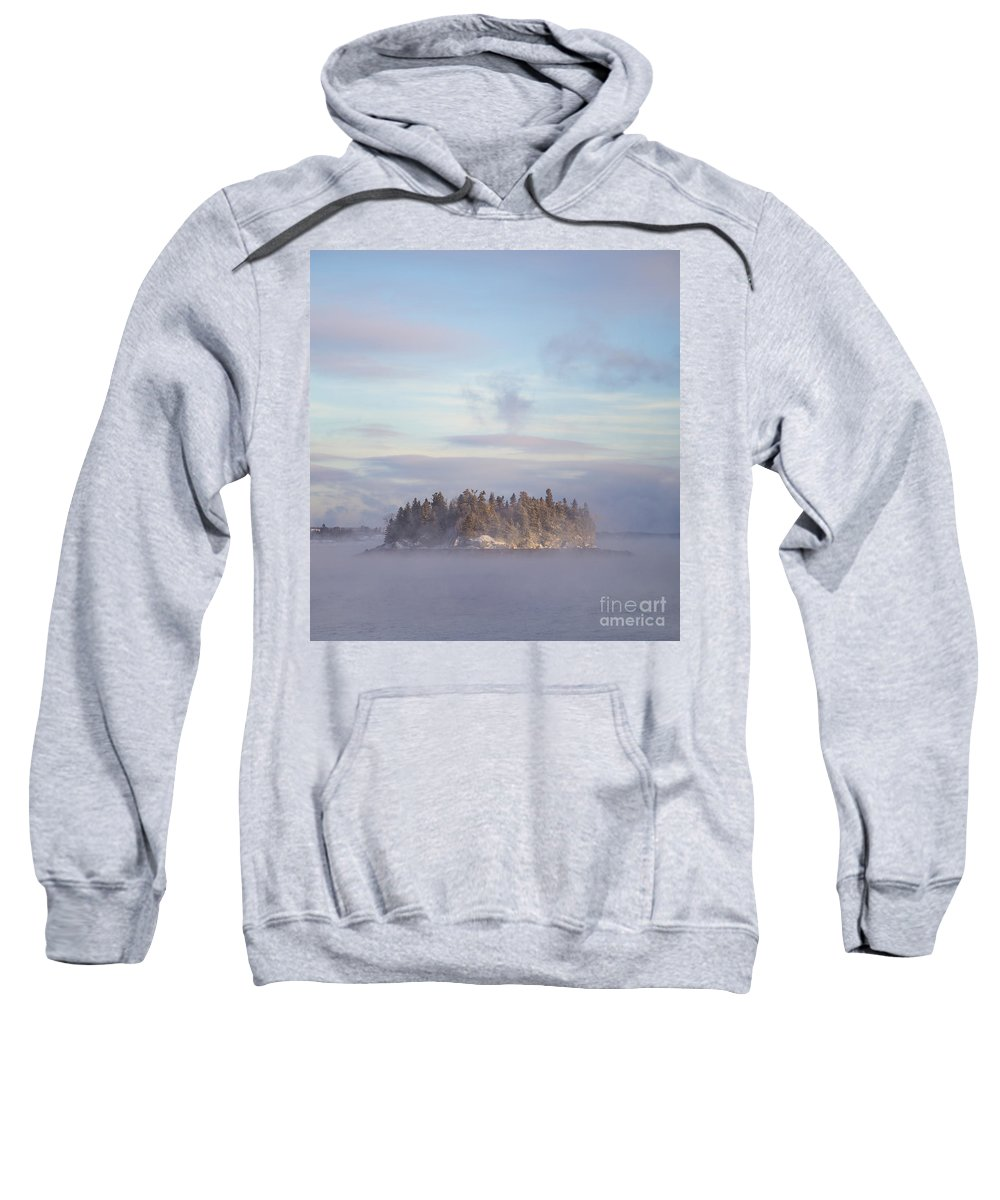Fog Sweatshirt featuring the photograph Fogscape by Evelina Kremsdorf