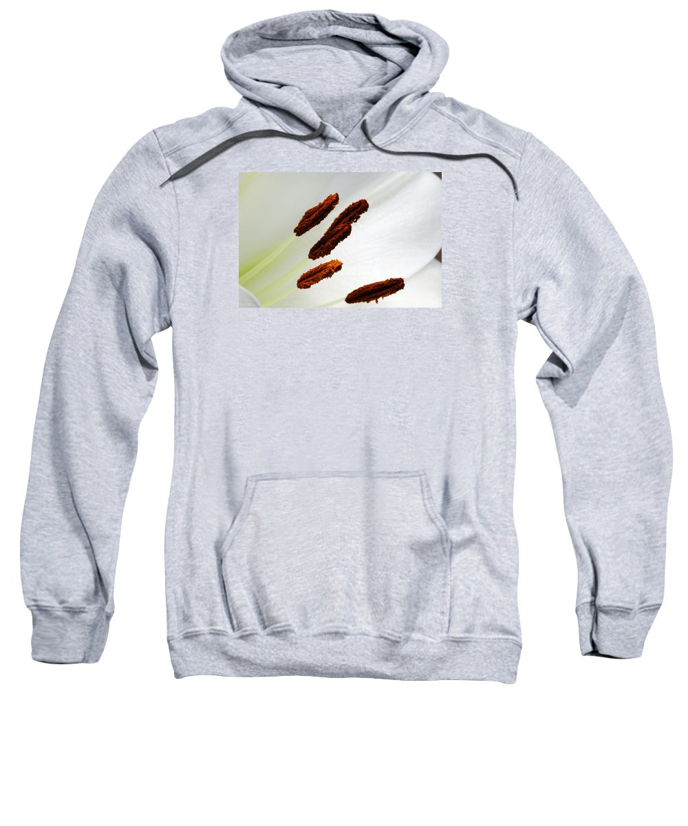 Wendy Sweatshirt featuring the photograph For The Love Of Lilies 7 by Wendy Wilton