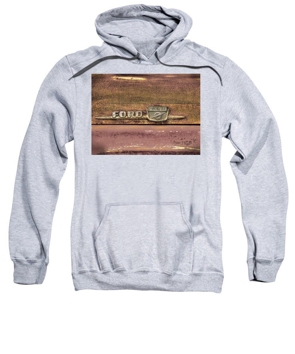 Classic Sweatshirt featuring the photograph Ford F-100 by Thomas Young