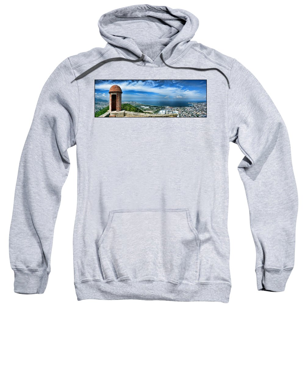 Fortin Solano Sweatshirt featuring the photograph Fortin Solano by Galeria Trompiz