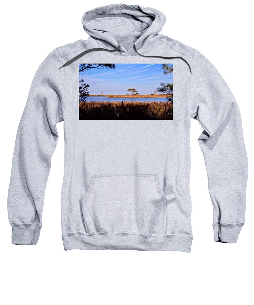 Four Trees Sweatshirt featuring the photograph Four Trees H by Robert McCulloch