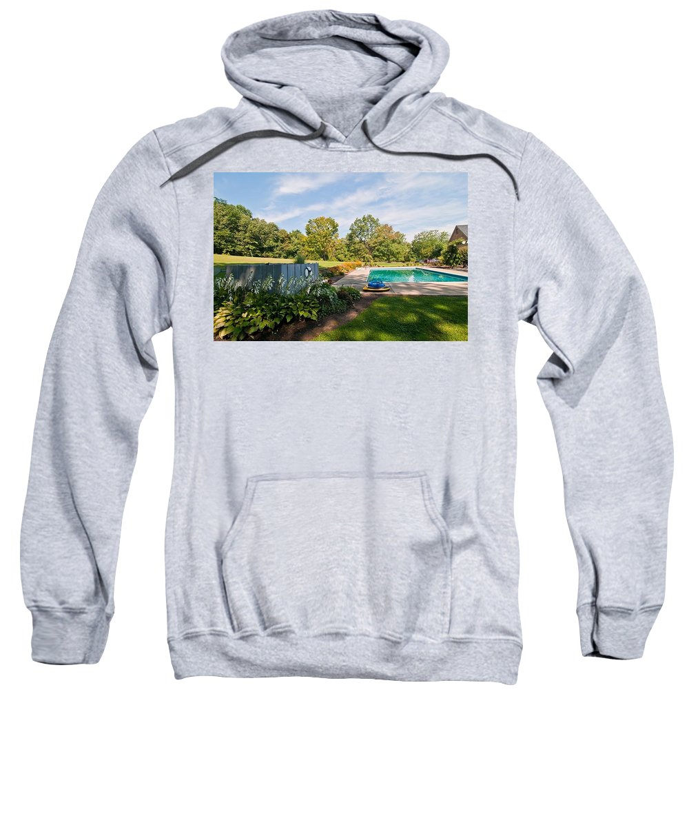 Sweatshirt featuring the photograph Fourteen by Randall Branham