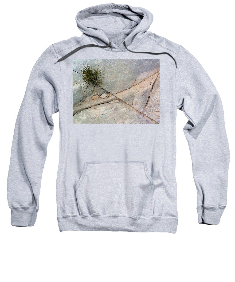 Digital Sweatshirt featuring the digital art Fracture 1 by David Hansen