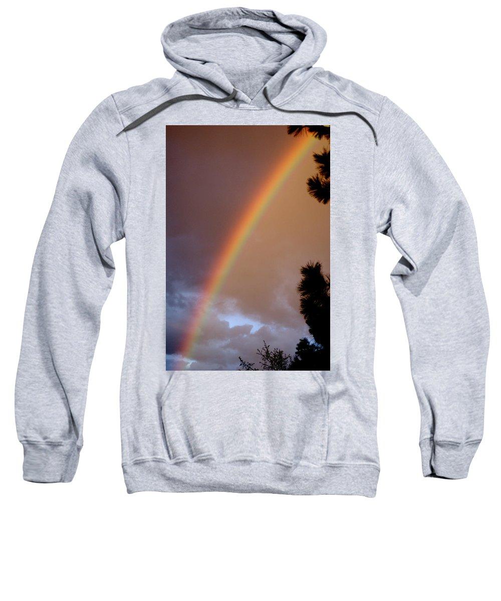Rainbow Sweatshirt featuring the photograph Free Rainbow by Ben Upham III