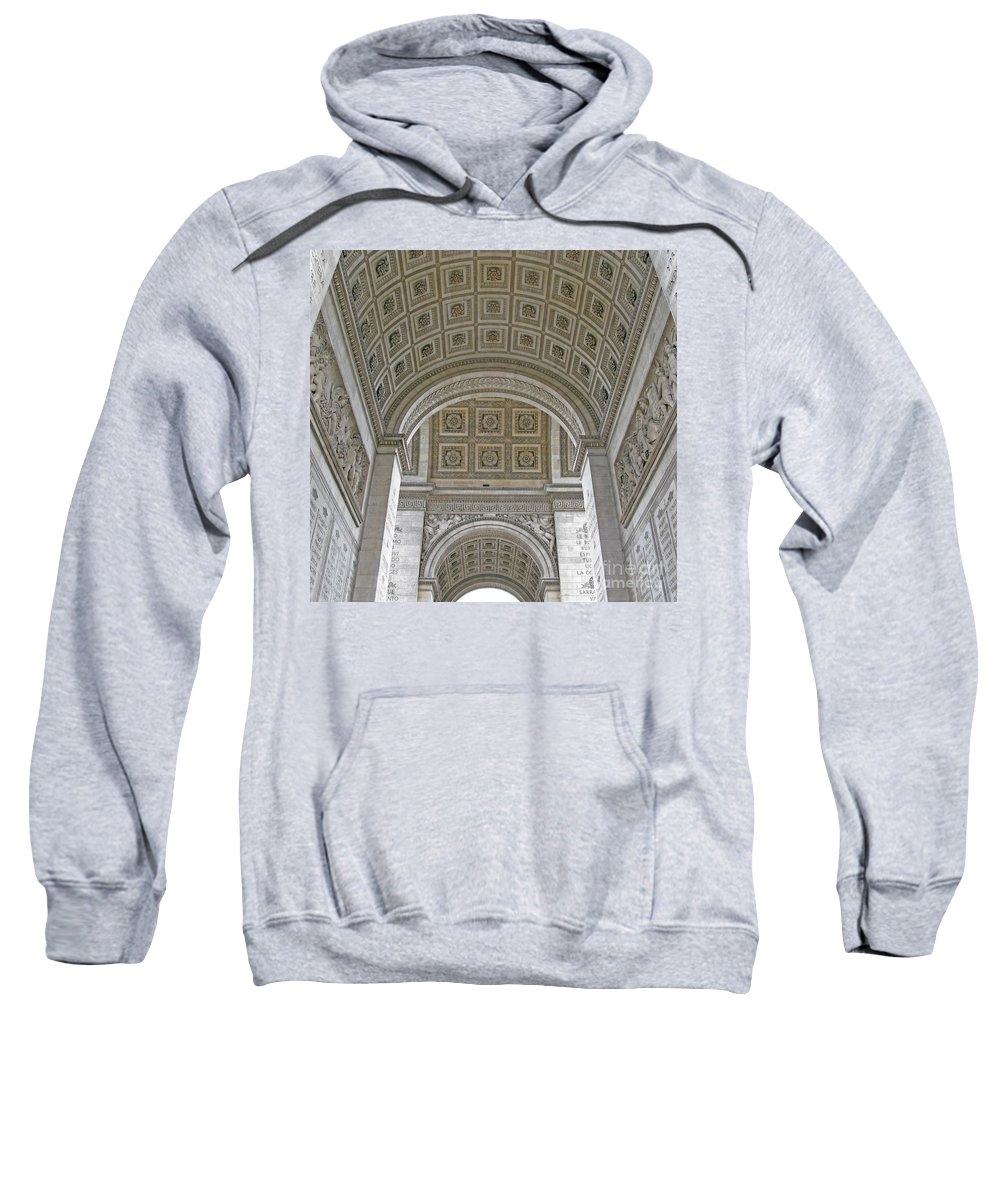 Arc De Triomphe Sweatshirt featuring the photograph French History by Ann Horn