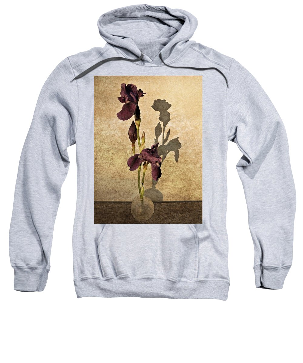 Iris Sweatshirt featuring the photograph Fresh Picked by Chris Berry