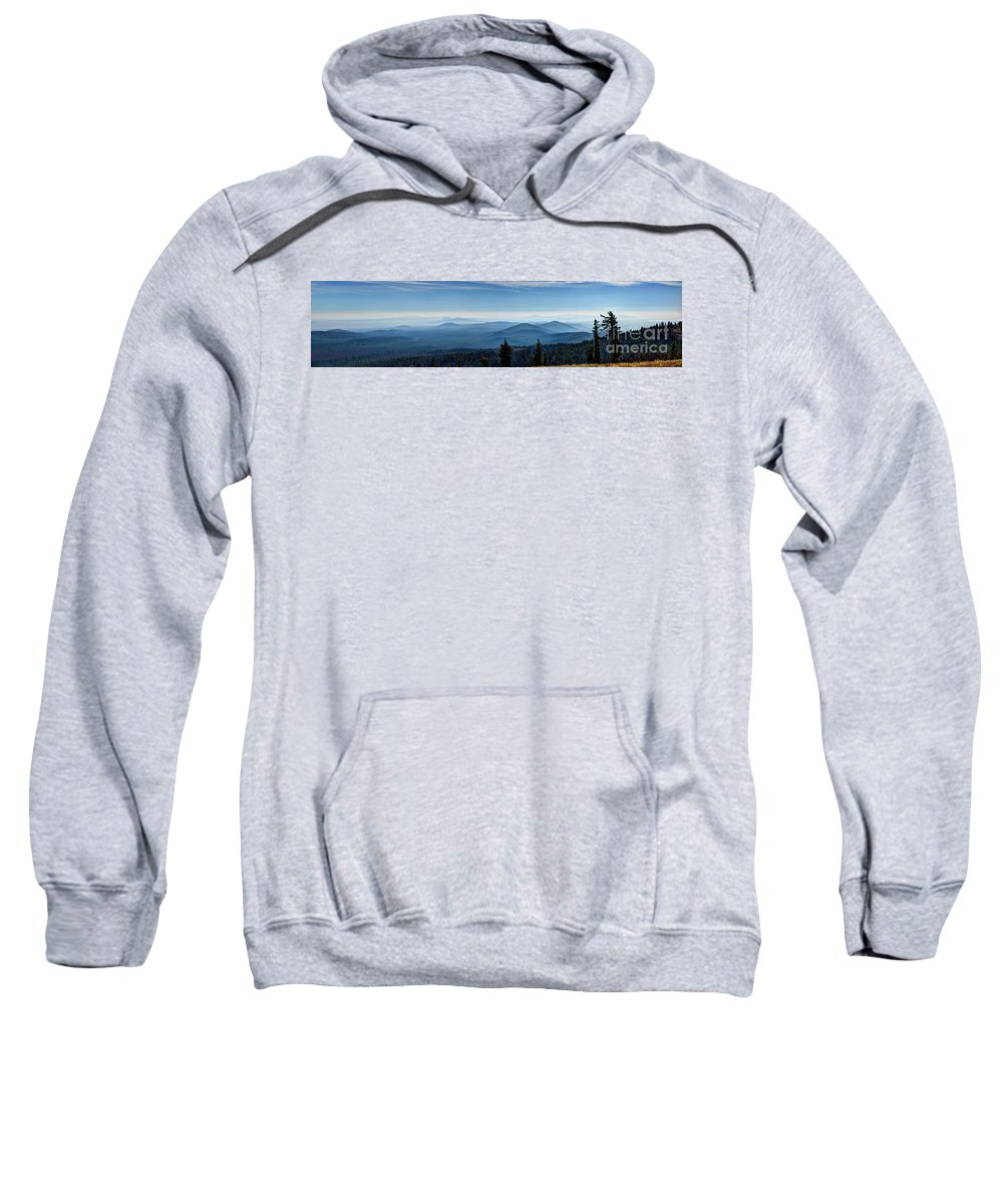 Crater Lake Oregon Sweatshirt featuring the photograph From The Rim by Jacklyn Duryea Fraizer