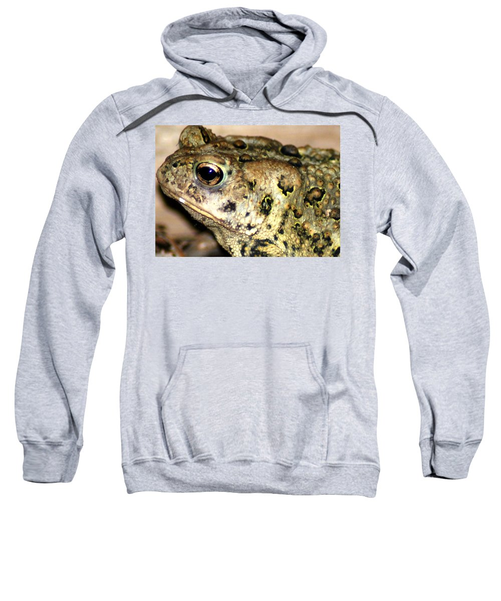 Sweatshirt featuring the photograph Frown by Optical Playground By MP Ray