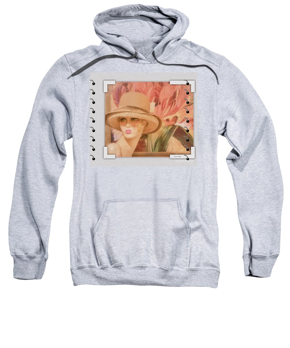 Fun And Flirty Sweatshirt featuring the photograph Fun And Flirty by Liane Wright