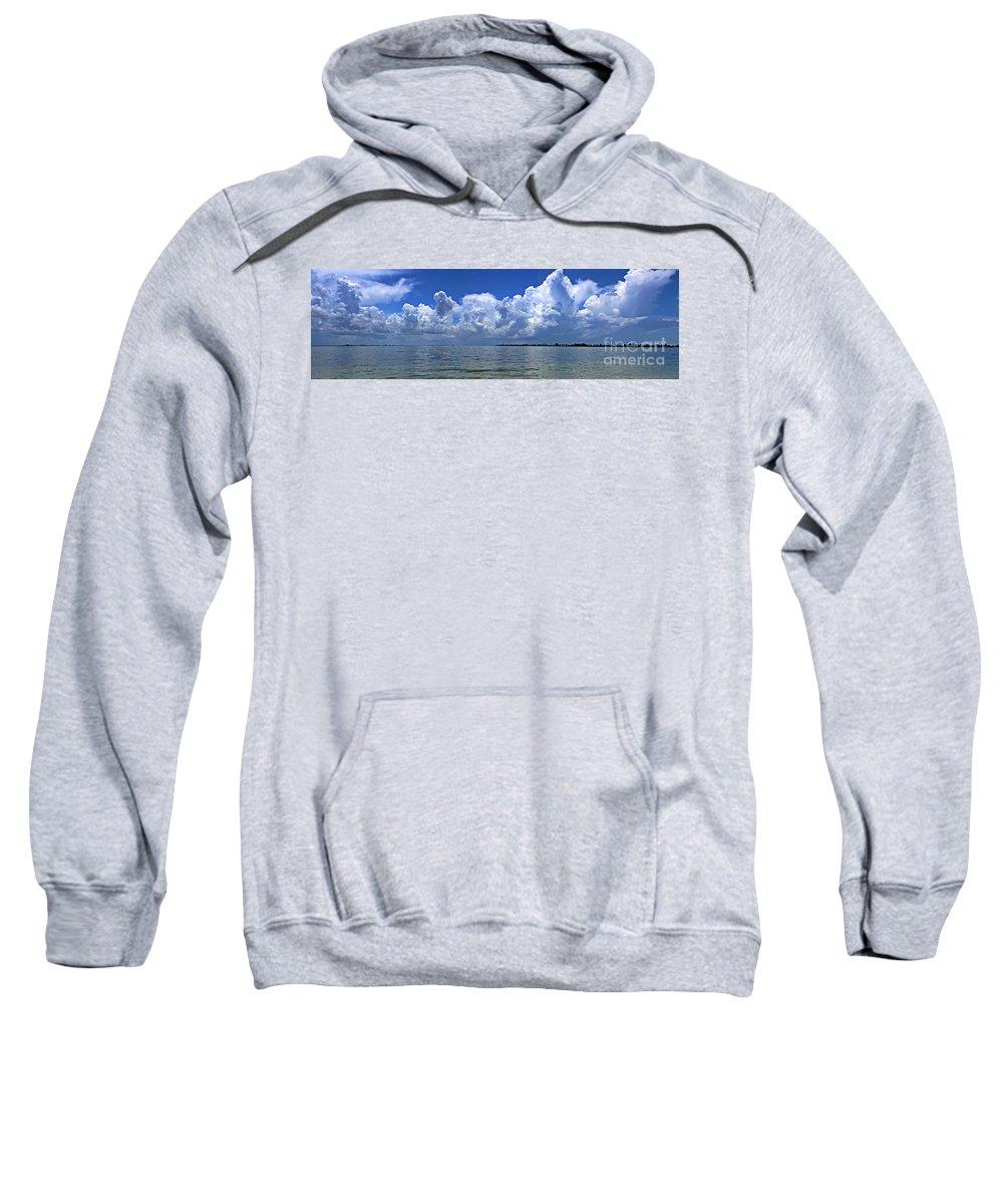 Florida Sweatshirt featuring the photograph Gateway To The Gulf by Richard Gripp