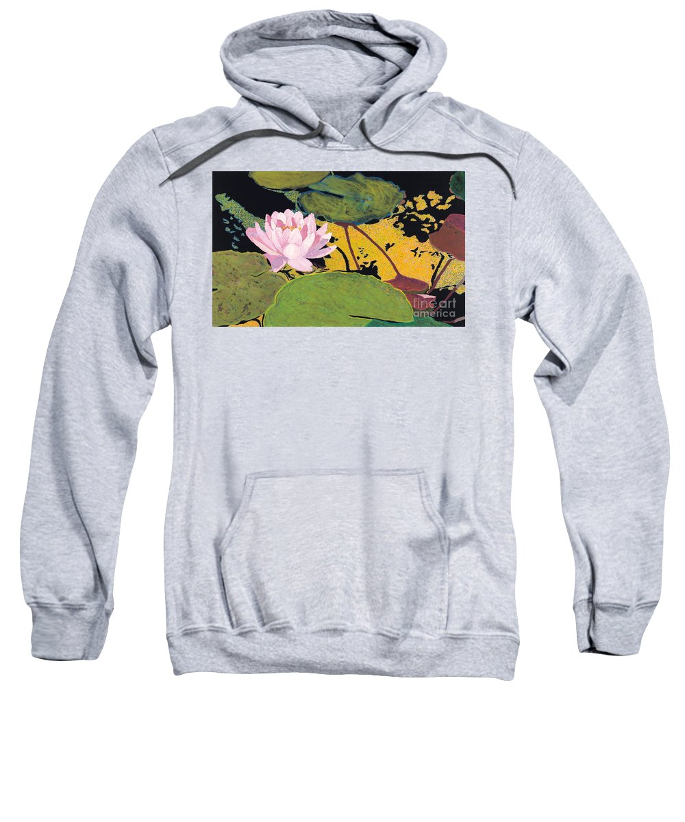 Landscape Sweatshirt featuring the painting Georgia Summer by Allan P Friedlander