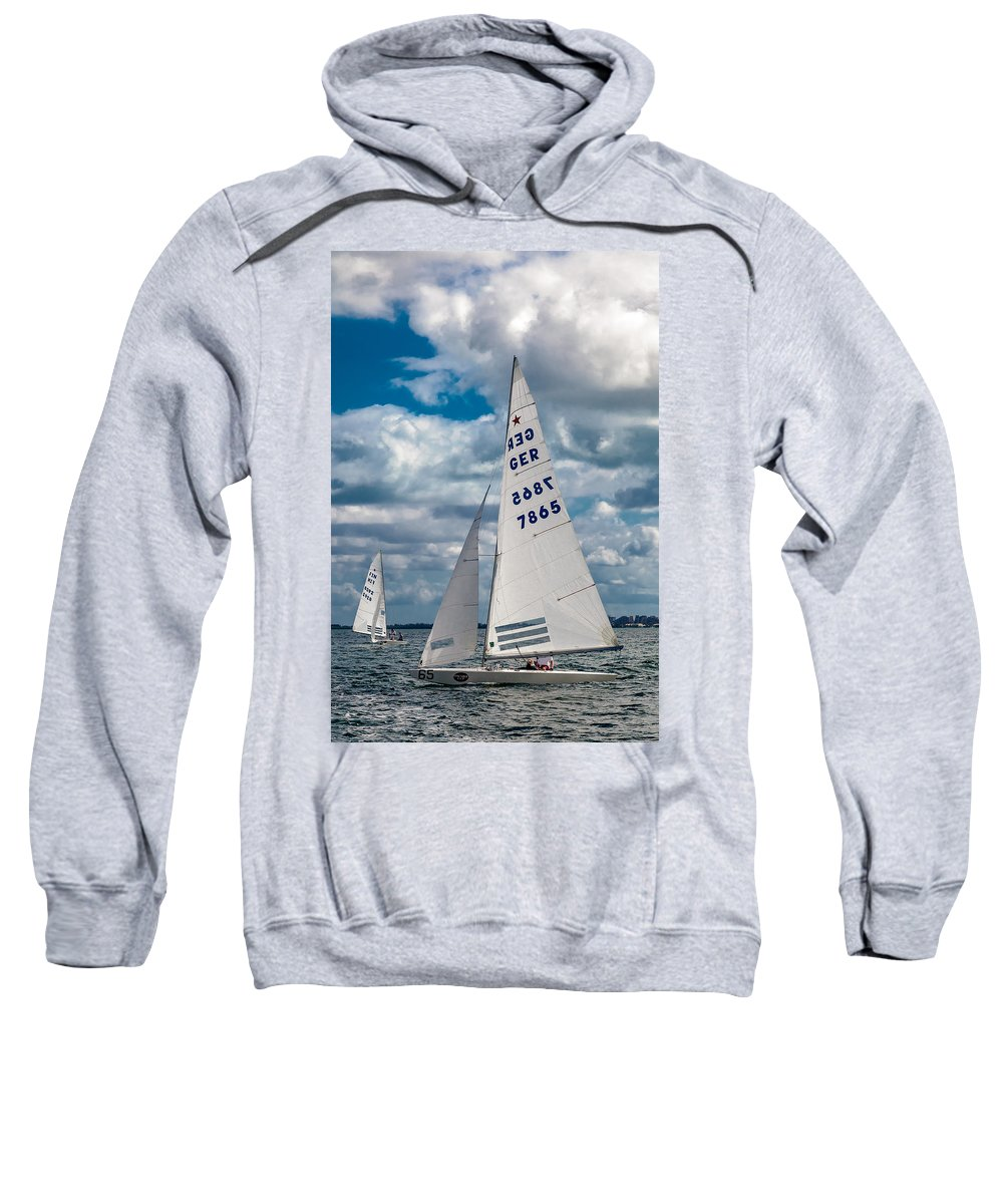 Waiting Room Sweatshirt featuring the photograph German Star by David Smith