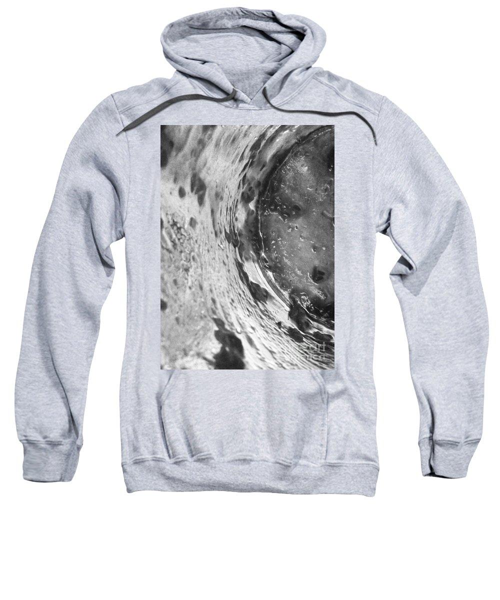 Abstract Sweatshirt featuring the photograph Getaway Jar B/w by Martin Howard