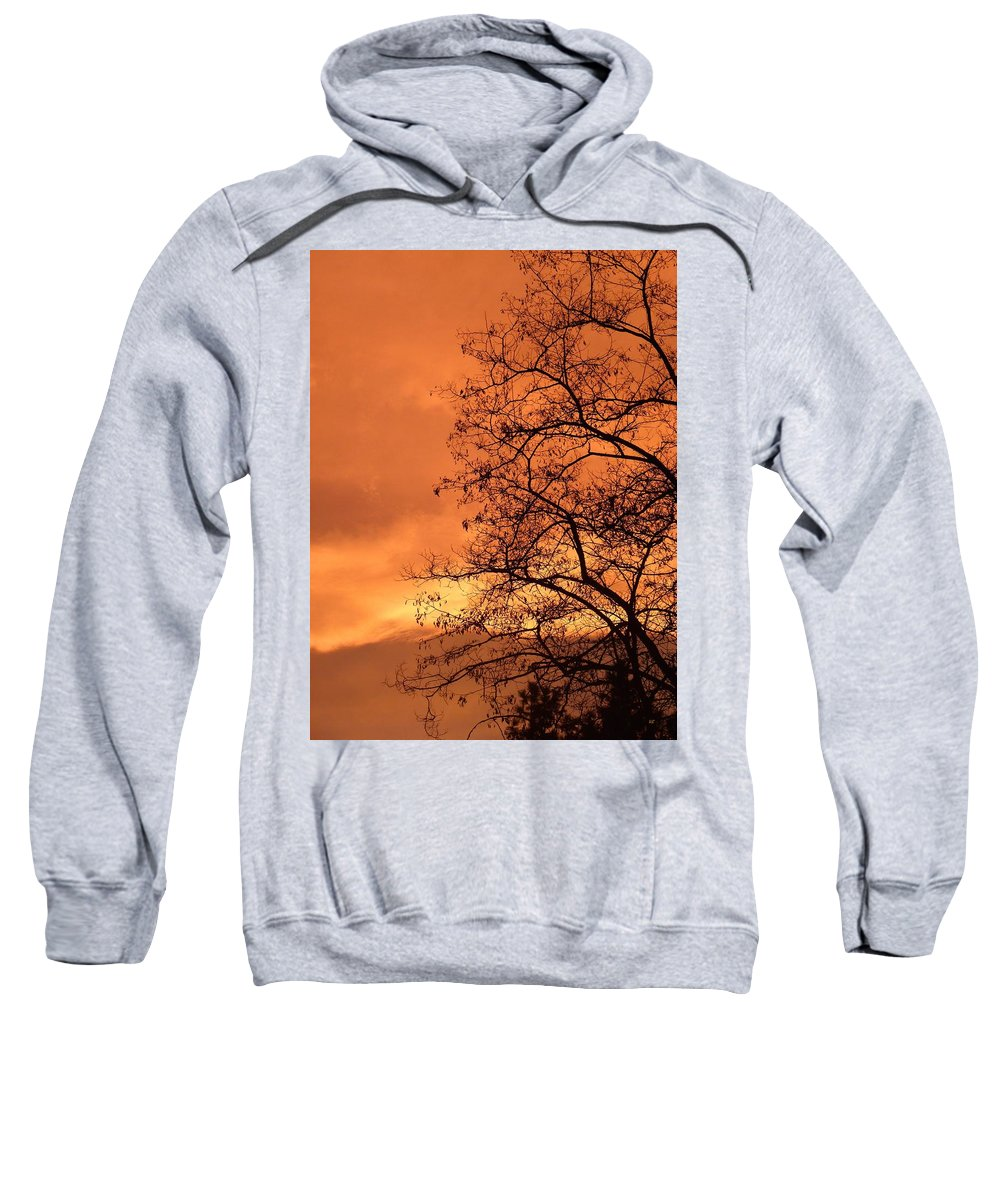 Glorious Silhouettes 1 Sweatshirt featuring the photograph Glorious Silhouettes 1 by Will Borden
