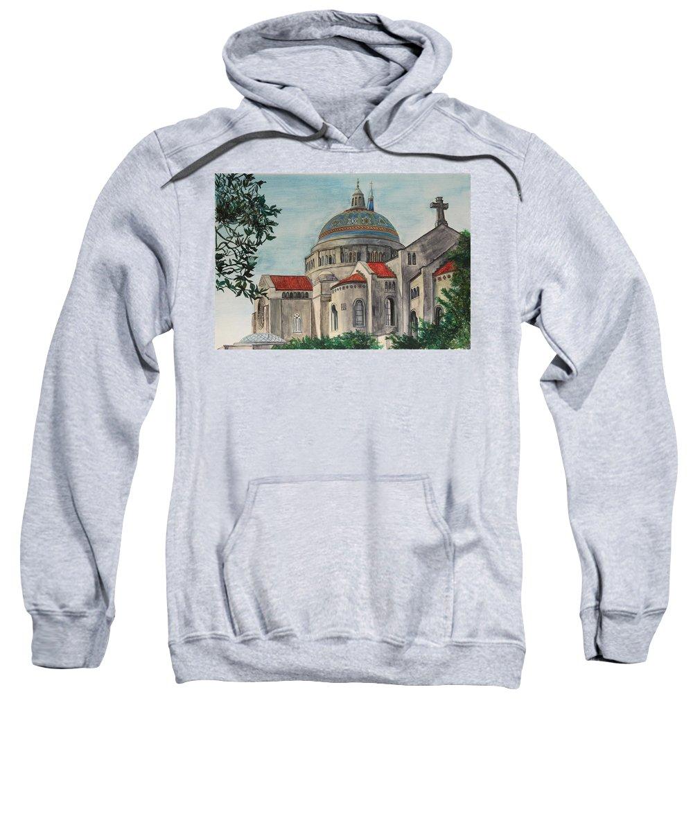 Sweatshirt featuring the painting Glory by Stephanie Hatfalvi