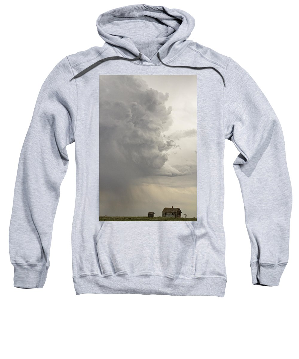 Storms Sweatshirt featuring the photograph Gobbled Up By A Storm by James BO Insogna