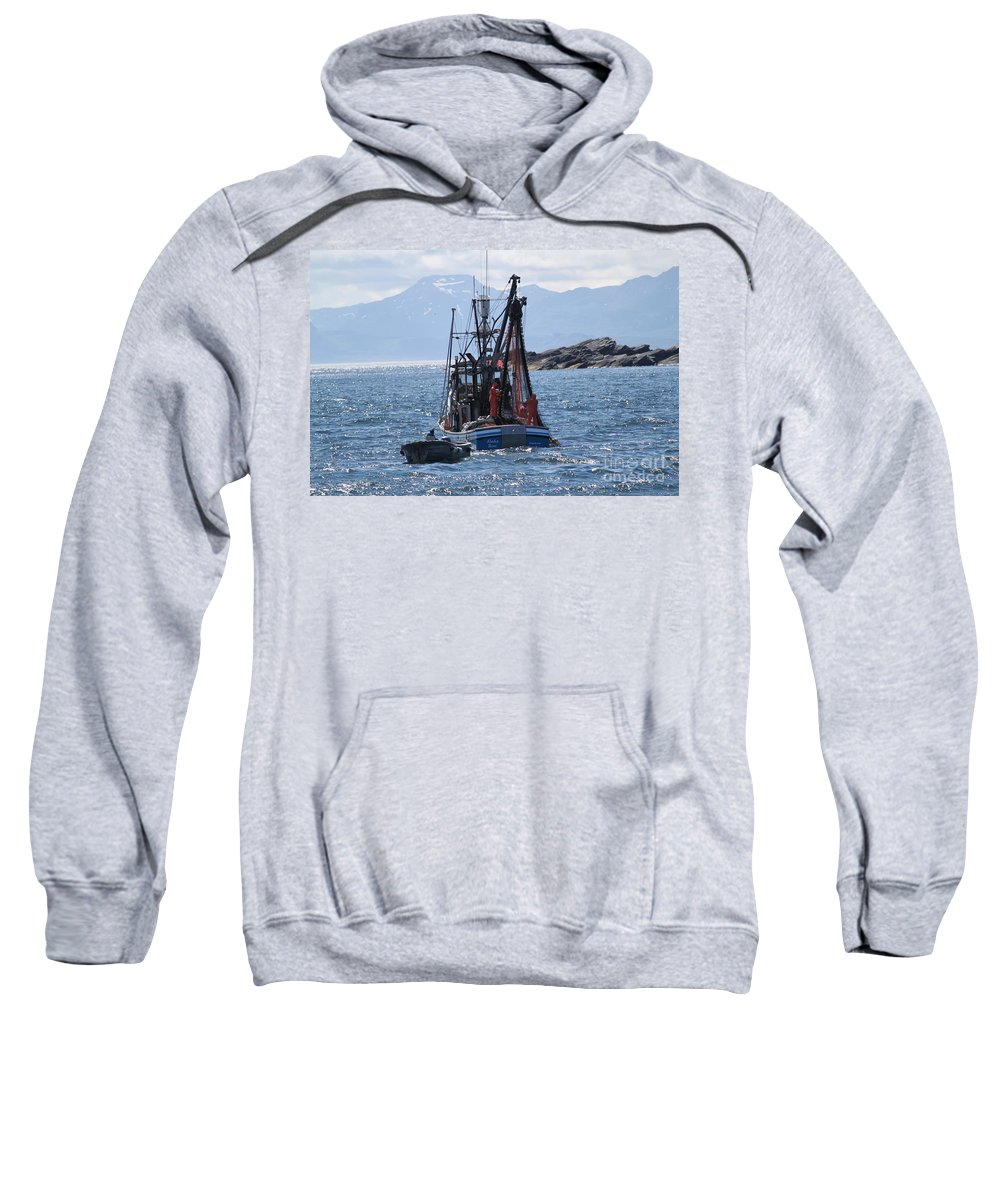 Sweatshirt featuring the photograph Good Day Fishing by Dean Gribble