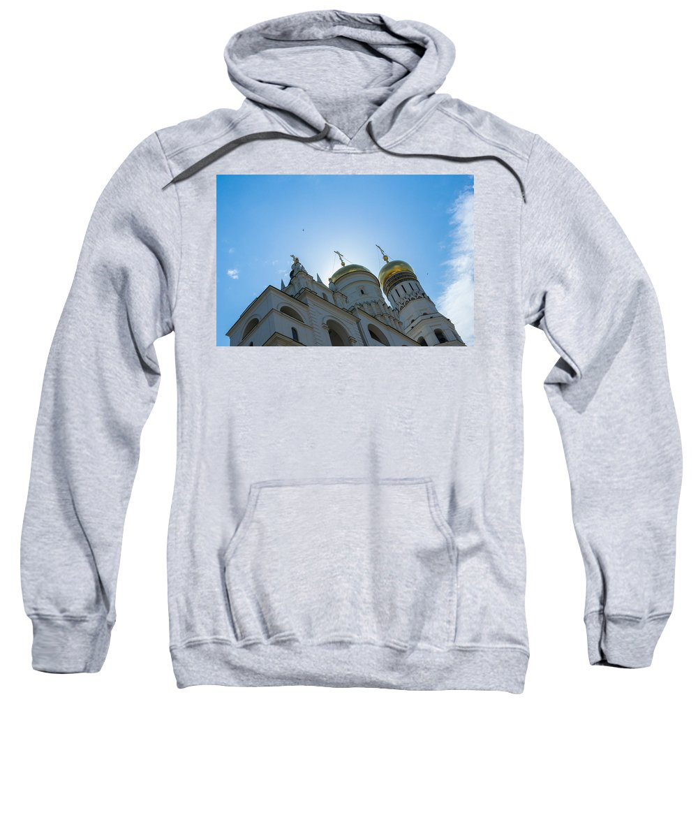 Architecture Sweatshirt featuring the photograph Good Morning History - Featured 2 by Alexander Senin