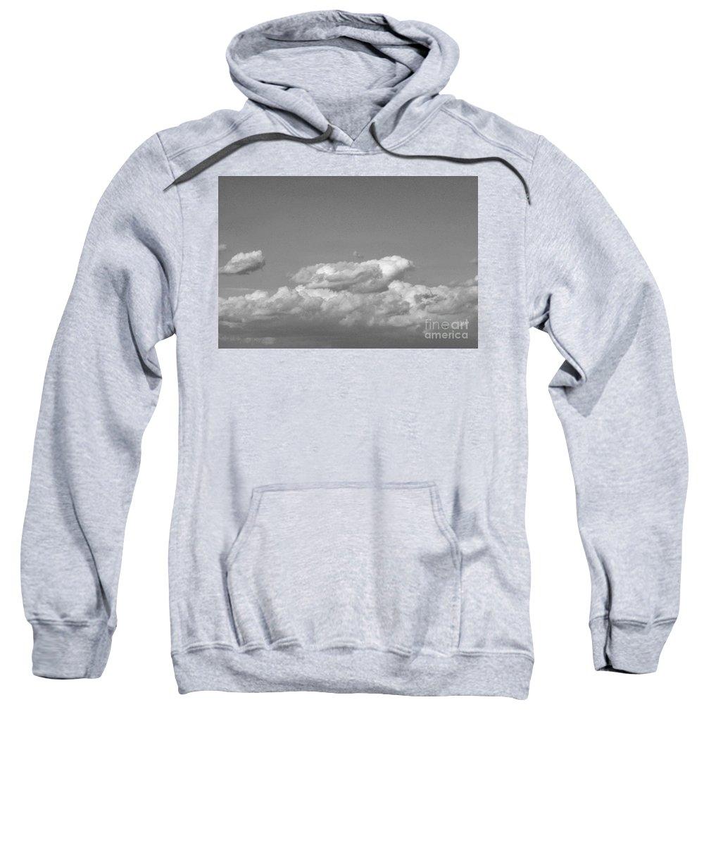 Sweatshirt featuring the photograph Grey by John J Calhoun