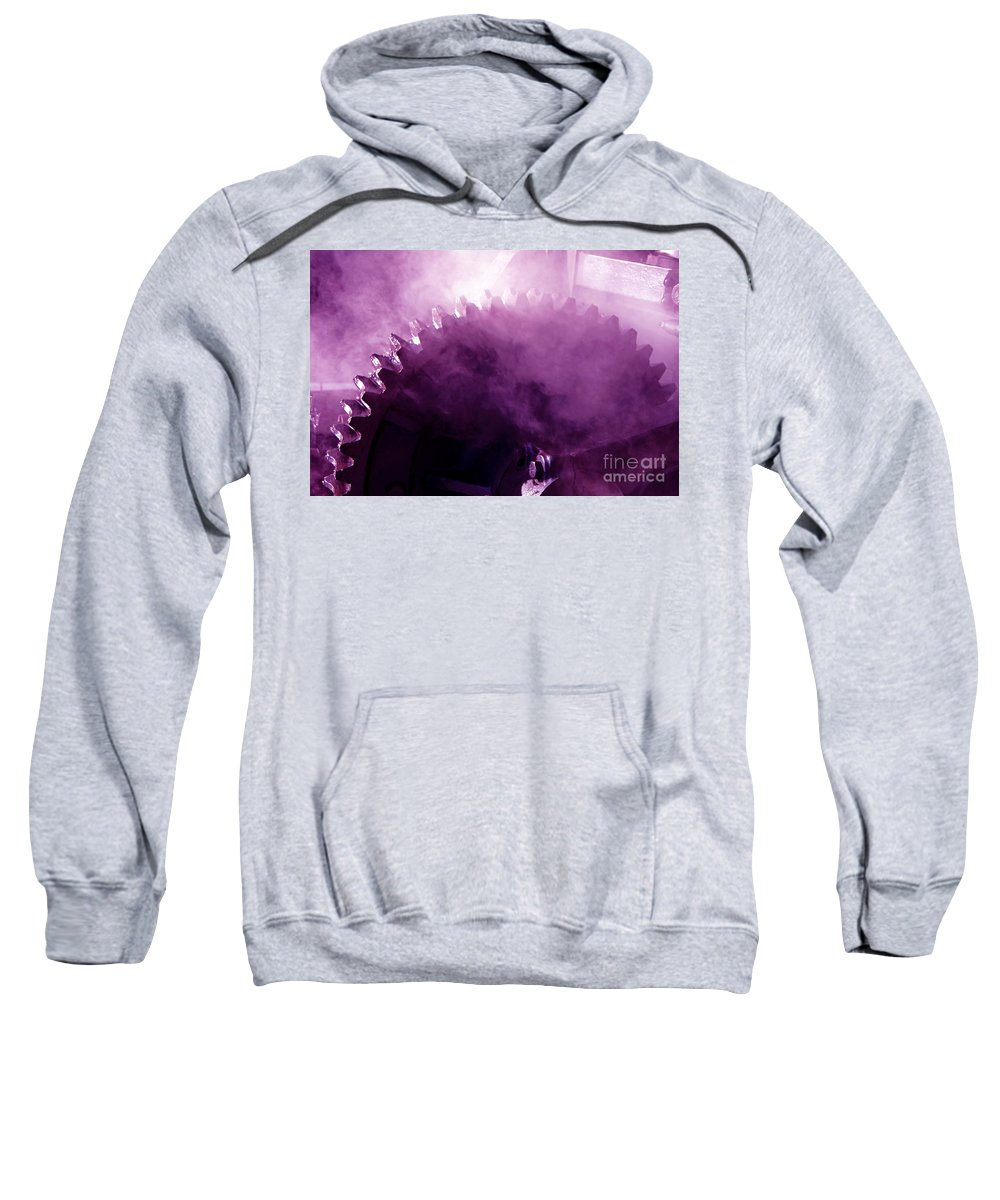 Gear Sweatshirt featuring the photograph Grooved by Joe Geraci